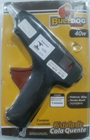 Pistola para aplicar cola quente