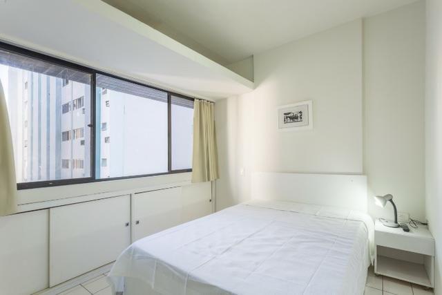 1 sala e quarto (mobiliado) lazer,próximo Giro e mar - Boa Viagem,