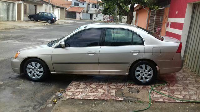 Civic LX Manual Aceita Trocas + Volta