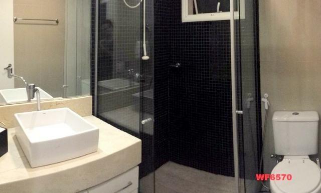 Allegro condomínio, 2 quartos, gabinete, projetado, alto luxo, andar alto, lazer completo - Foto 8