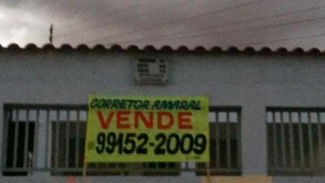 Casa 03 Quartos QD 43 Frente Pistão Sul/ St Leste Gama DF - Foto 2