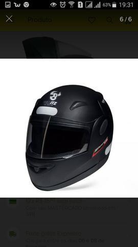 Vendo capacete Taurus Zarref novo