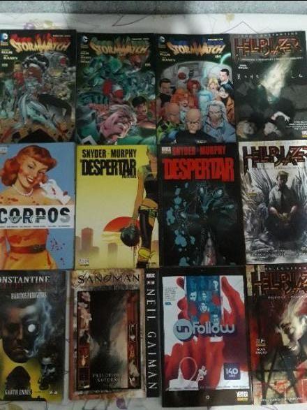Quadrinhos Hellblazer, Stormwatch e outros Vertigo