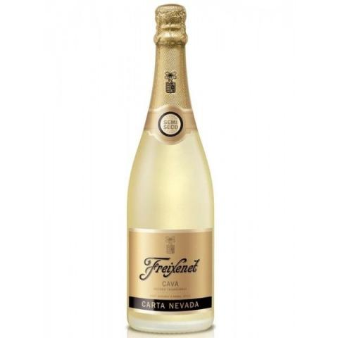 Espumante Cava Freixenet Carta Nevada Semi Seco 750 ml