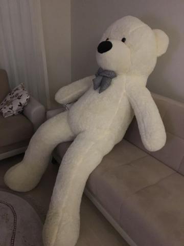 Urso Pelucia Gigante ( 1,60metros ) SEM ENCHIMENTO