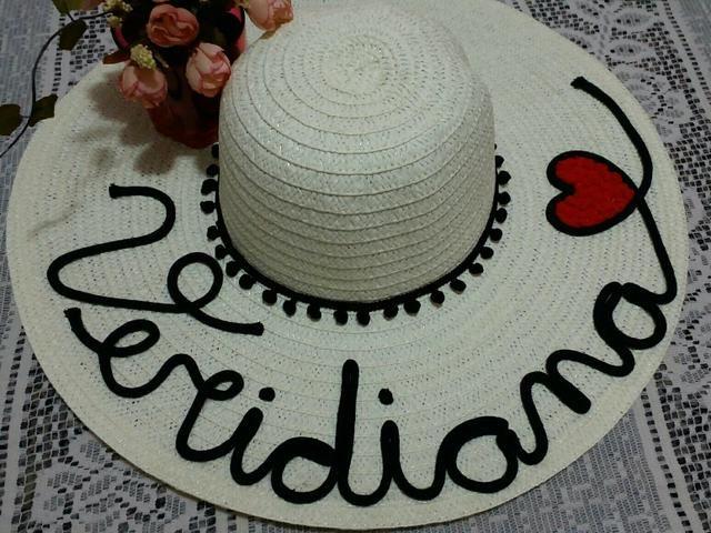Chapéu personalizado com nome - Celulares e telefonia - Vila ... 8f78e6869db
