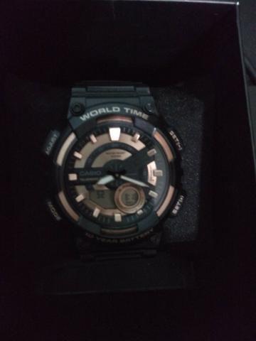 8e111b56b01 Relógio Casio Masculino SAEQ-110W-1A3VDF - não aceito troca ...