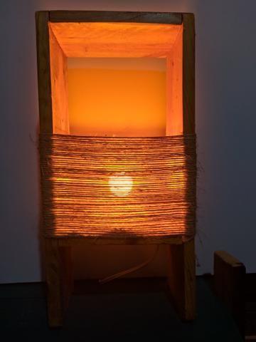 Luminária rústica para decoração - Foto 4