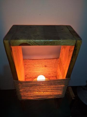 Luminária rústica para decoração - Foto 2