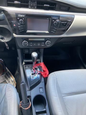 Vendo corolla xei aut 2.0 flex completo 2014/2015 - Foto 11