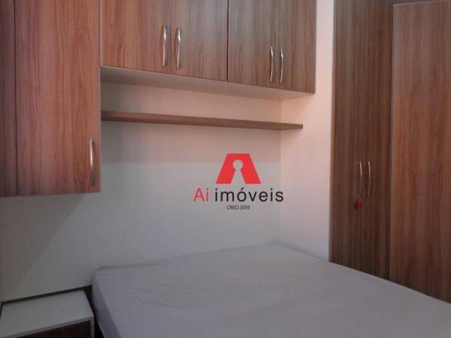 Apart** 2 quartos, mobiliado, para alugar, 49 m2 por R$ 1.700,00/mês com CONDOMINIO E I - Foto 19