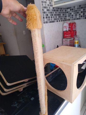 Arranhador de parede para gatos - Foto 4