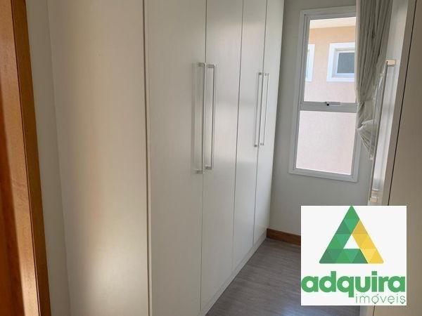 Casa em condomínio com 4 quartos no Condomínio Veneto - Bairro Oficinas em Ponta Grossa - Foto 9