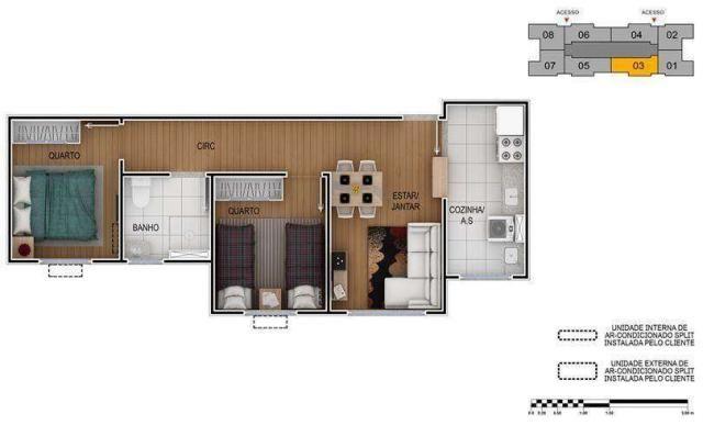 Torres das Dunas - Apartamento de 2 quartos em Natal, RN - ID3887 - Foto 3