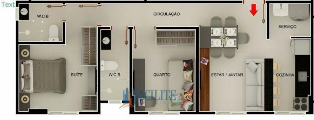 Apartamento à venda com 2 dormitórios em Pedro gondim, João pessoa cod:22848-11489 - Foto 6