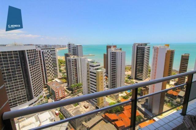 Apartamento Duplex com 5 dormitórios para alugar, 130 m² por R$ 4.500,00/mês - Mucuripe -  - Foto 4