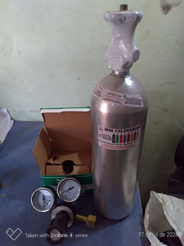 Kit CO2 2 kg chopp  - Foto 2