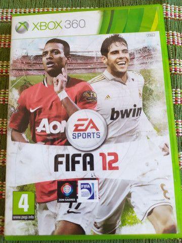Jogo Original para Vídeo Game Xbox 360 Fifa 12