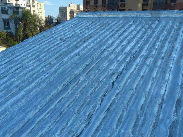 Impermeabilizações, telhados e terraços, aplicação manta asfaltica