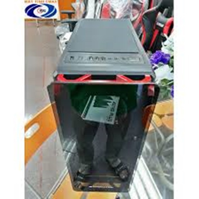 Gabinete gamer Xigmateck Astro Metal Red (sem cooler) com Vidro temperado - Foto 4