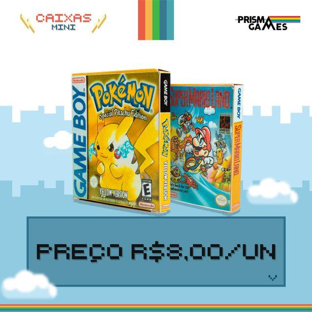 Caixa Mini Para Jogos - Gameboy / Gameboy Color - Foto 4