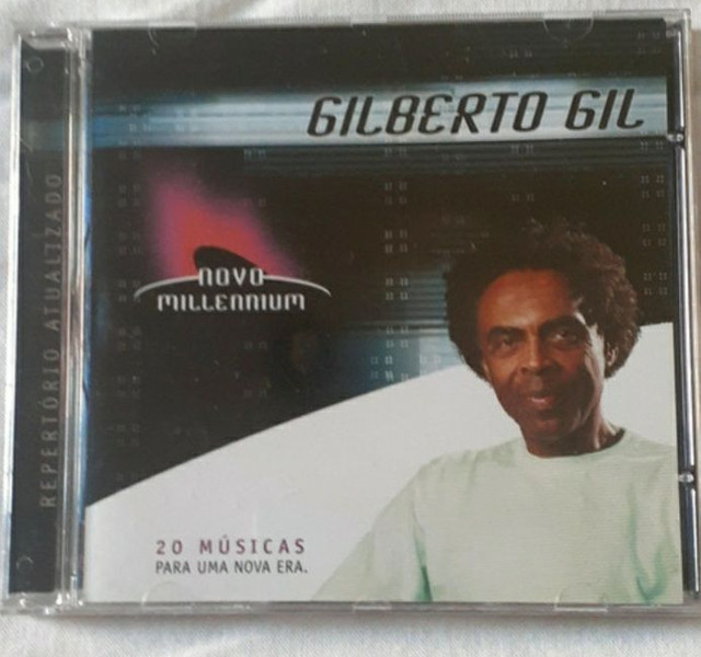 CD do Gilberto Gil - novo/lacrado
