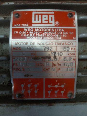 Motor Weg trifásico 3c - Foto 4