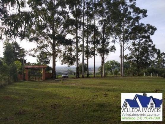 Velleda of. sítio 3,9 hectares, vista magnífica, casa, piscina - Foto 3