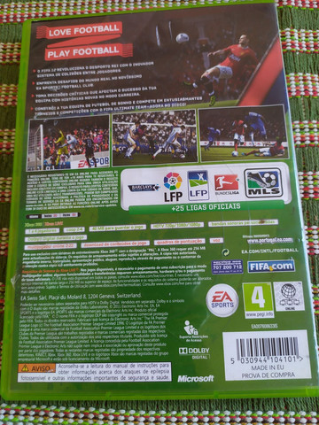 Jogo Original para Vídeo Game Xbox 360 Fifa 12 - Foto 3