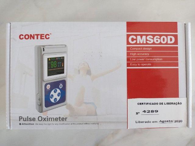 Oxímetro de mão (handheld) com sensor de oximetria CMS60D marca Contec - Foto 2