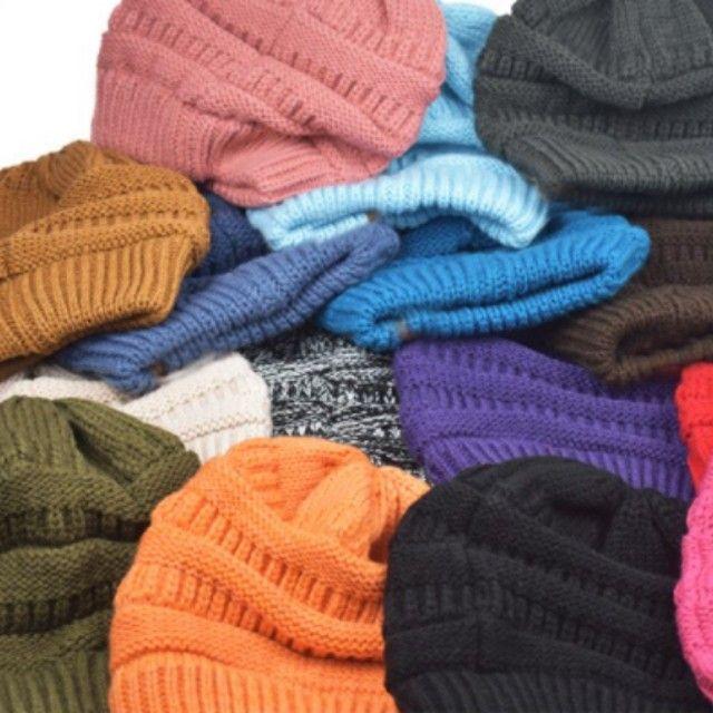 Quente inverno feminino chapéu - Foto 3