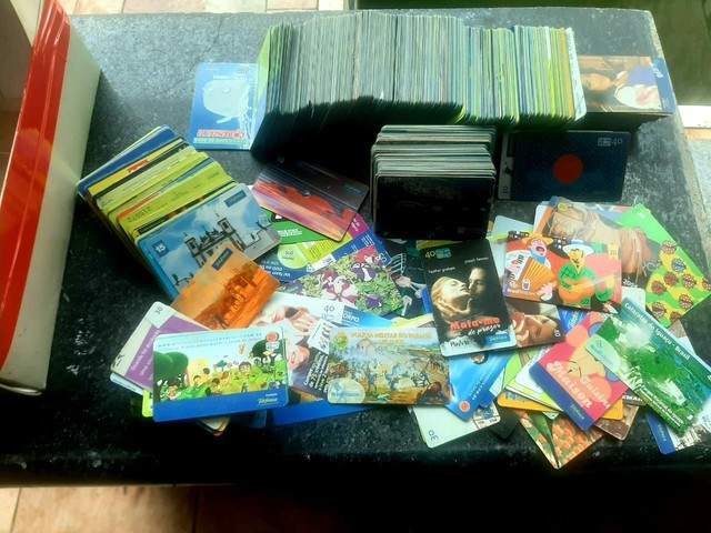 1.260 cartões  telefonicos - Foto 2