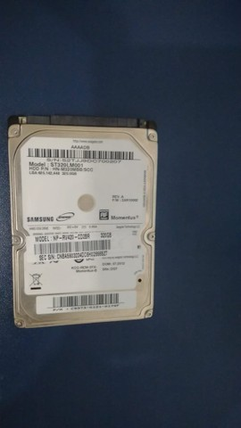Hd Notebook Original Samsung Rp-r430-jas1br 320gb