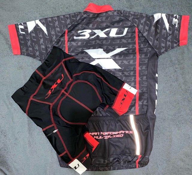 Bermuda e camisa de ciclismo X3xu