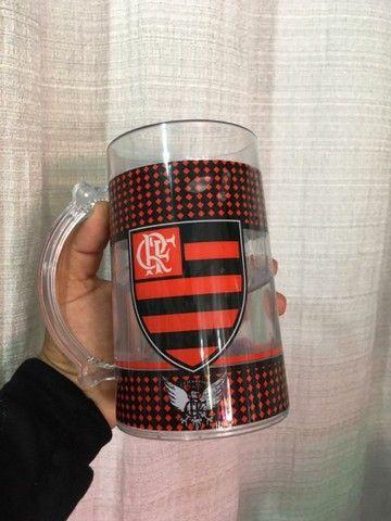 Caneca do Flamengo com Gel