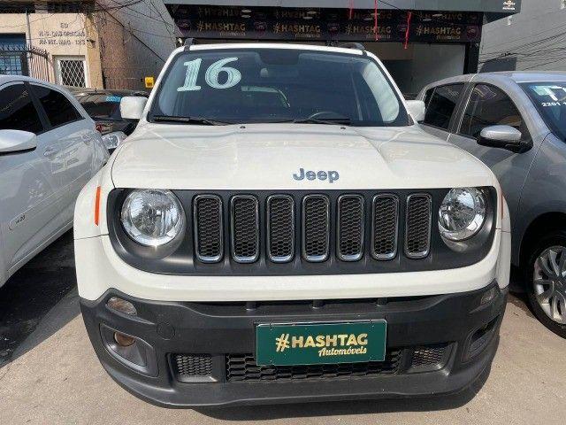 Jeep Renegade Longitude - 2016 - 1.8 Flex Auto - Branco  - Foto 2