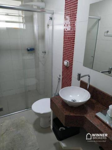 Lindo apartamento mobiliado à venda no centro de Cianorte! - Foto 2