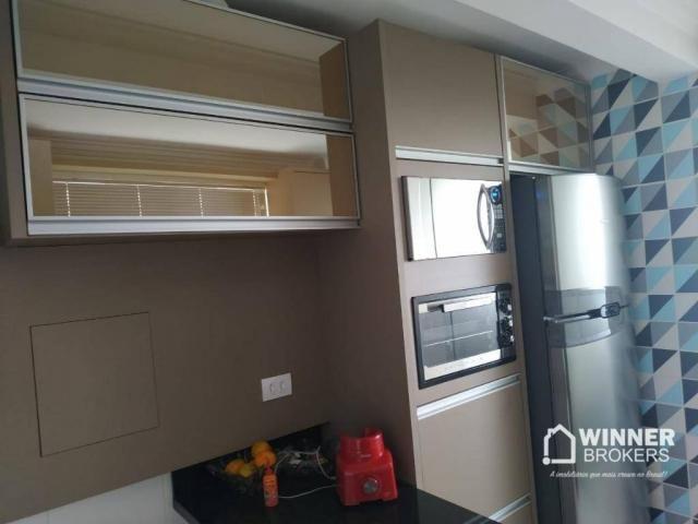 Lindo apartamento mobiliado à venda no centro de Cianorte! - Foto 13