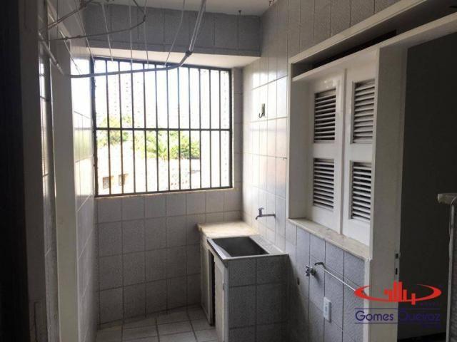 Apartamento com 3 dormitórios para alugar, 129 m² por R$ 1.400/mês - Dionisio Torres - For - Foto 17