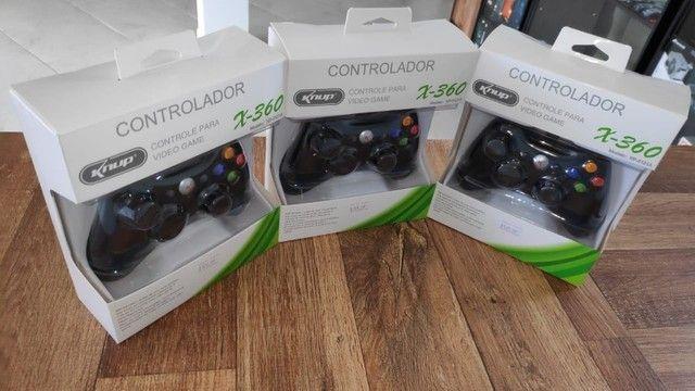 Controle para Xbox 360 e Computador! (Novo com Garantia) - Foto 4