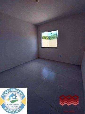 WG Casa Popular entrada a partir de 2.000*, 2 quartos, 1 banheiro social, Garagem. - Foto 6