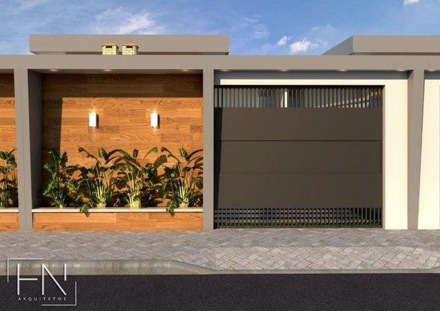 WG Moderna Casa, 2 dormitórios, 1 suíte, 2 banheiros, 3 vagas de garagens - Foto 3