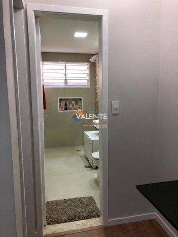 Apartamento com 1 dormitório à venda-por R$ 190.000,00 - Centro - São Vicente/SP - Foto 6