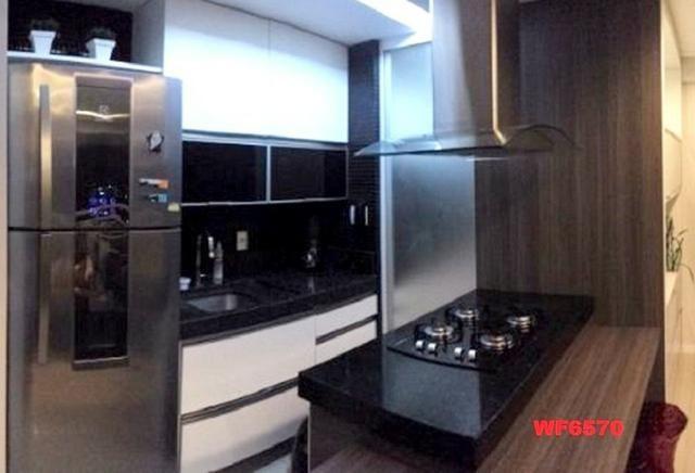 Allegro condomínio, 2 quartos, gabinete, projetado, alto luxo, andar alto, lazer completo - Foto 3