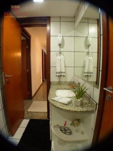 Apartamento residencial à venda, meireles, fortaleza. 3 dormitórios, condomínio com 2 vaga - Foto 17