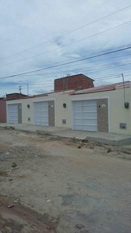 Casa Plana R$ 137.000,00 em pedras messejana Documentação grátis!