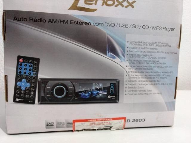DVD Automotivo Lenoxx Sound AD-2603