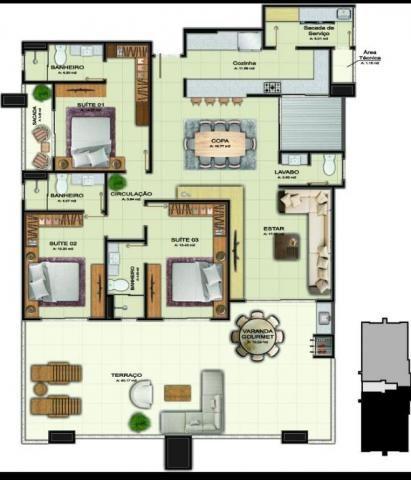 Apartamento com 2 dormitórios à venda, 106 m² por R$ 530.450 - Costa e Silva - Joinville/S - Foto 5