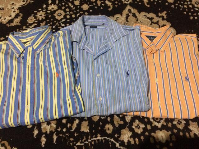 Camisa sociais Ralph Lauren - Roupas e calçados - Mooca 29cd1a04626