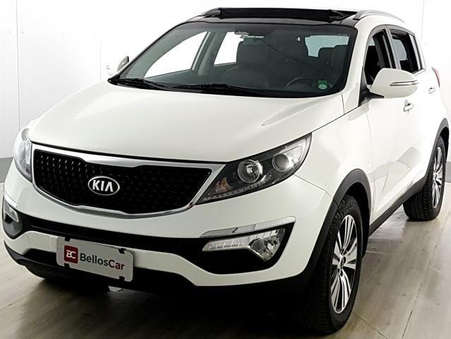 Kia Motors Sportage EX 2.0 16V/ 2.0 16V Flex Aut. - Branco - 2014
